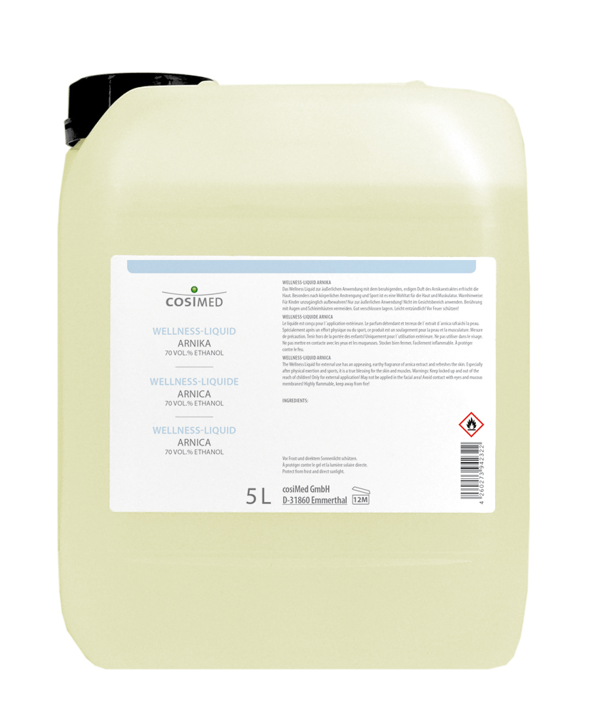 cosiMed Wellness Liquid Arnika 5 Liter Kanister