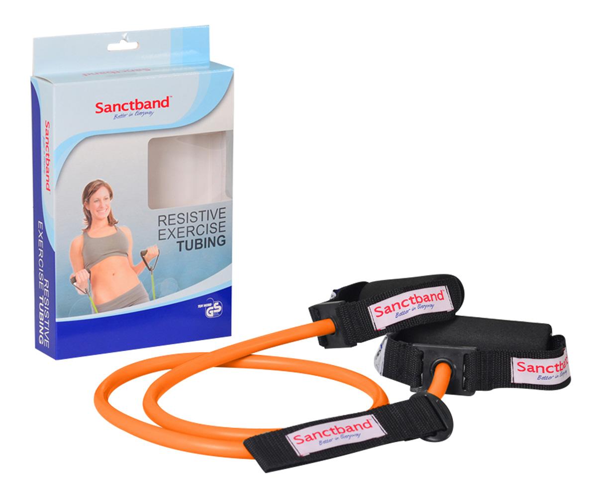 Sanctband Resistive Exercise Tubing Orange