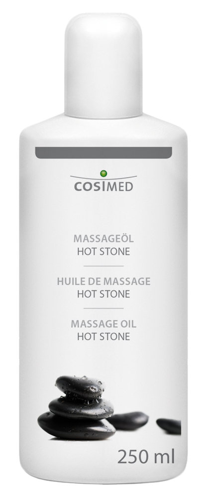 cosiMed Massageöl Hot Stone 250ml Flasche