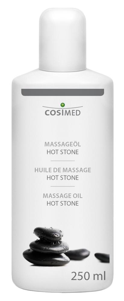 cosiMed Massageöl Hot Stone 250ml Flasche