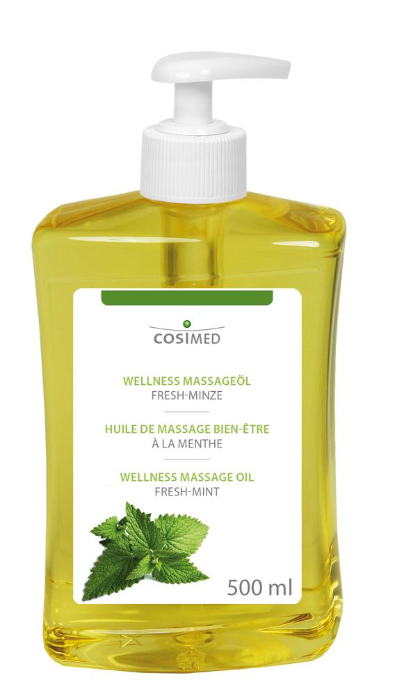 cosiMed Wellness-Massageöl Fresh-Minze 500ml Dosierflasche