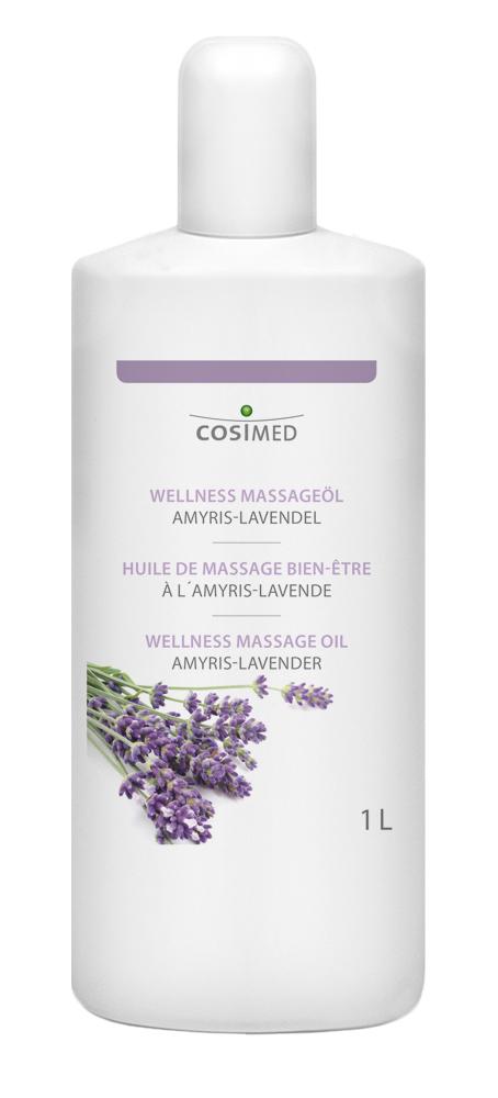 cosiMed Wellness-Massageöl Amyris-Lavendel 1 Liter Flasche