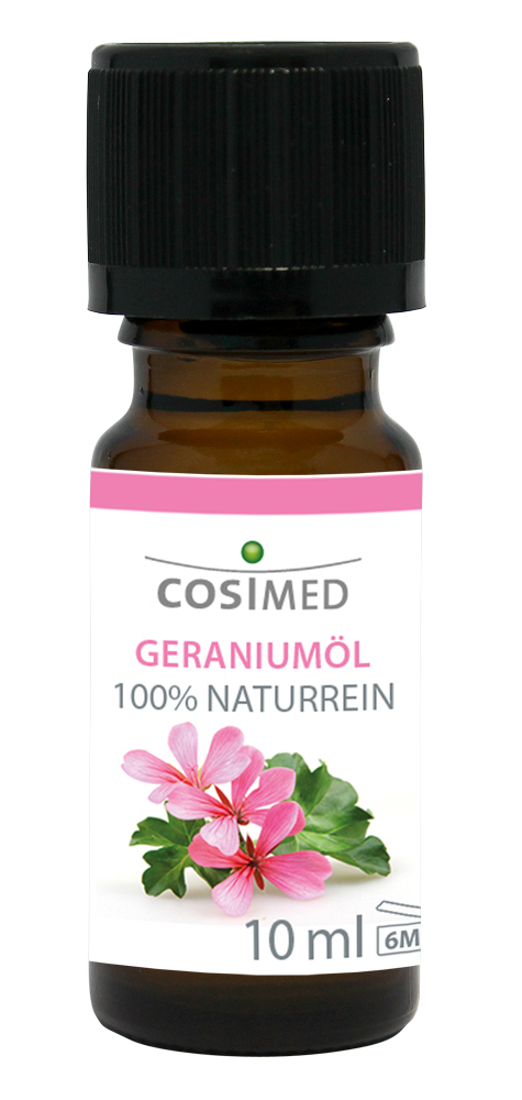 cosiMed Ätherisches Geraniumöl 10ml Glasflasche