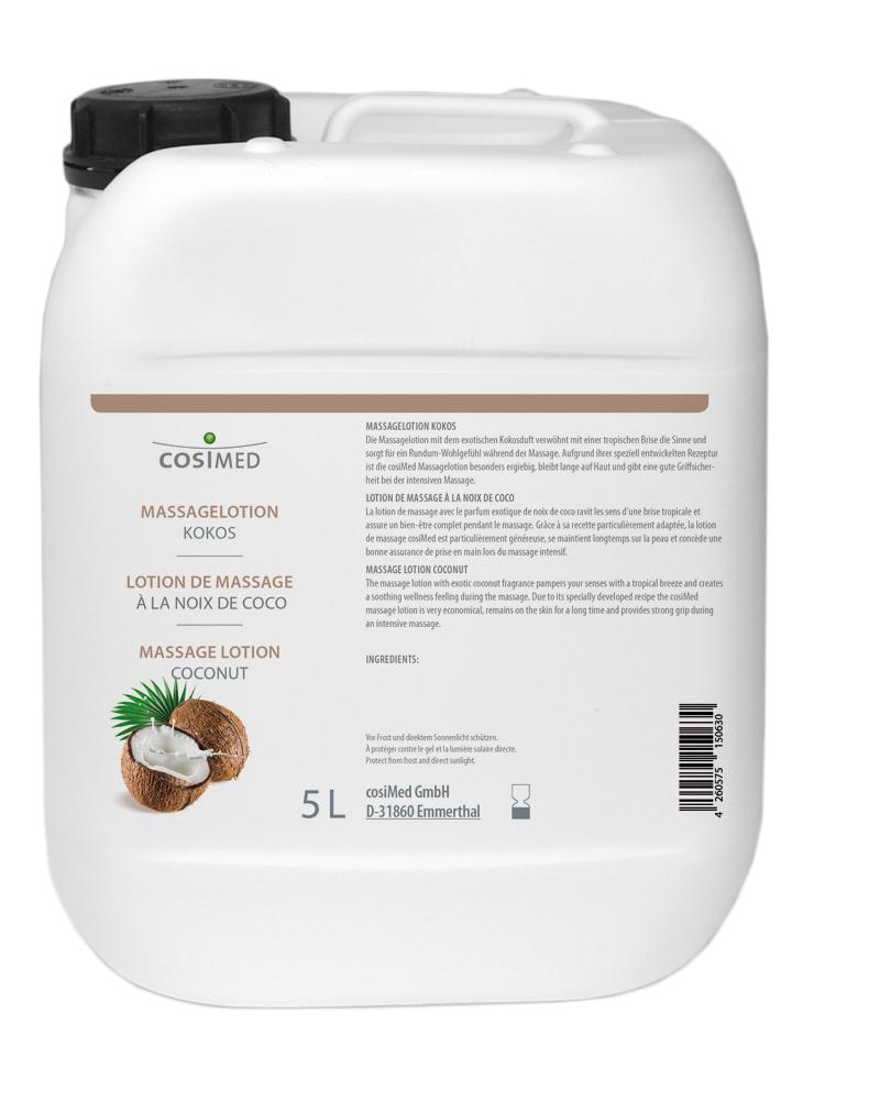 cosiMed Massagelotion Kokos 5 Liter Kanister