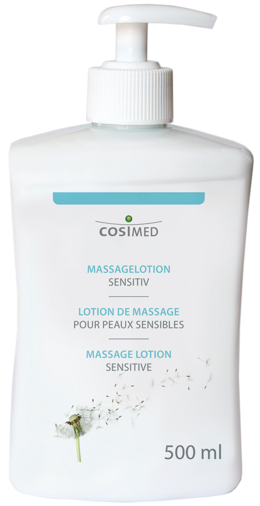 cosiMed Massagelotion Sensitiv 500ml Dosierspender