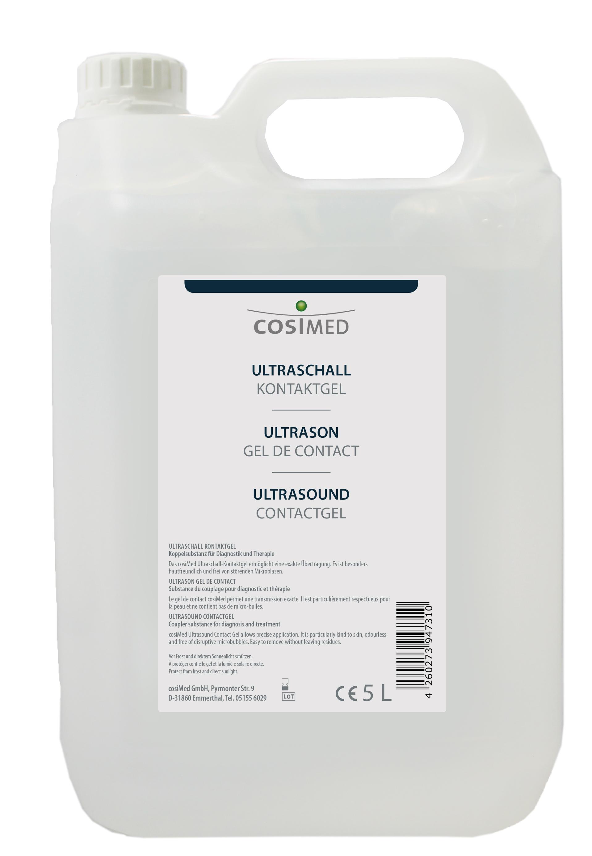 cosiMed Ultraschall Kontaktgel 5 Liter Kanister