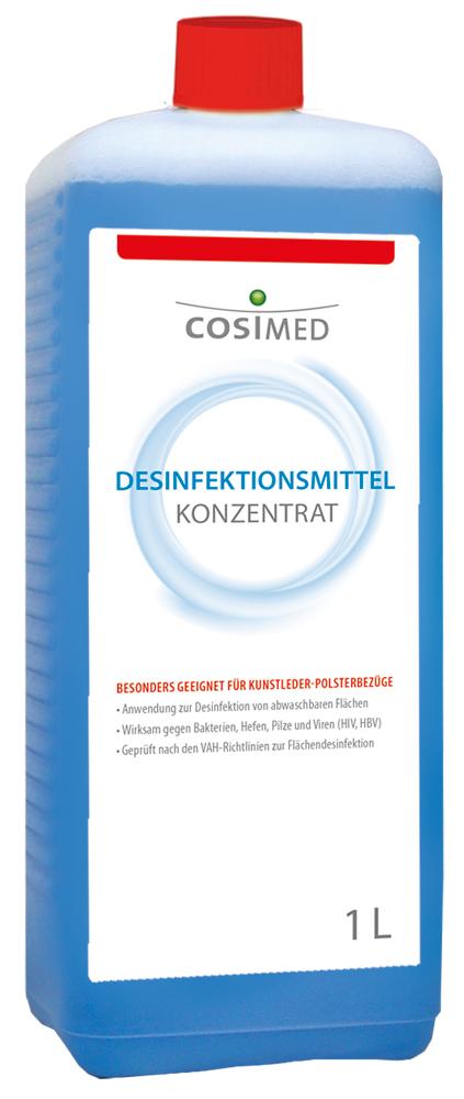 cosiMed Desinfektionsmittel Konzentrat 1 Liter Flasche