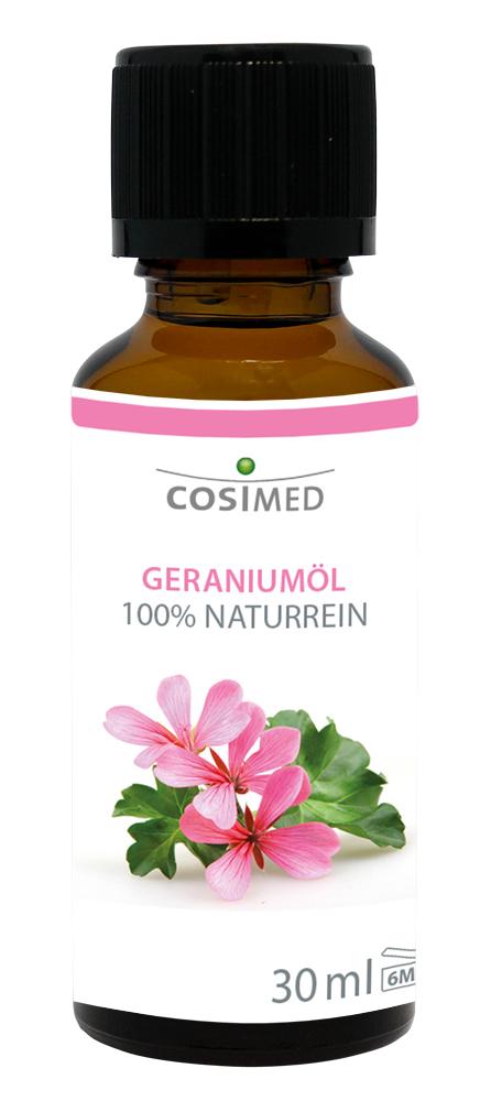 cosiMed ätherisches Geraniumöl 30ml Glasflasche