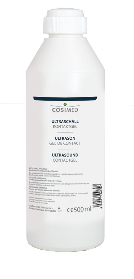 cosiMed Ultraschall Kontaktgel 500ml Flasche