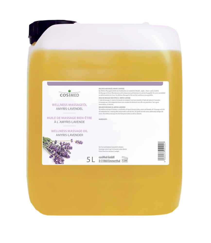 cosiMed Wellness-Massageöl Amyris-Lavendel 5 Liter Kanister