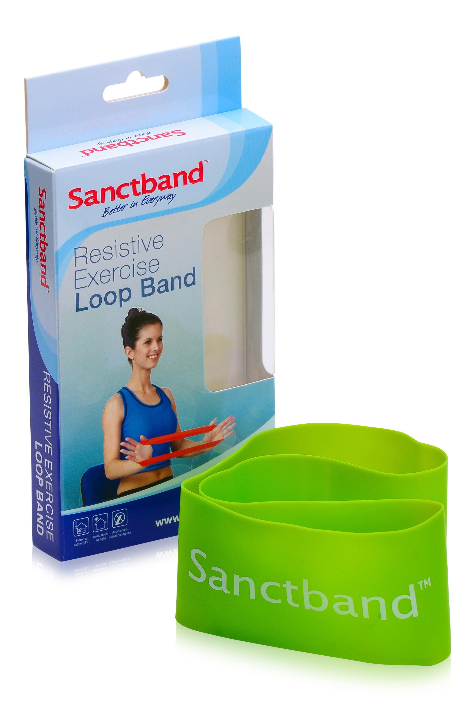 Sanctband Loop Schleifenband Limette Lime